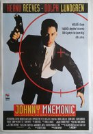 Johnny Mnemonic - Turkish Movie Poster (xs thumbnail)