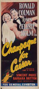 Champagne for Caesar - Australian Movie Poster (xs thumbnail)