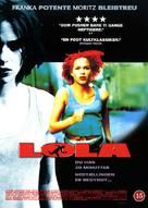Lola Rennt - Danish DVD cover (xs thumbnail)