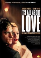 It's All About Love - French Movie Poster (xs thumbnail)