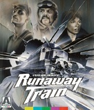 Runaway Train - British Blu-Ray movie cover (xs thumbnail)