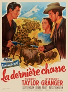 The Last Hunt - French Movie Poster (xs thumbnail)