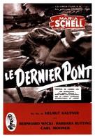Die letzte Brücke - French Movie Poster (xs thumbnail)