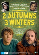 2 automnes 3 hivers - Australian Movie Poster (xs thumbnail)