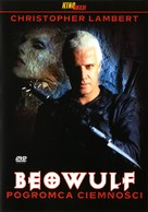 Beowulf - Polish DVD cover (xs thumbnail)