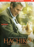 Hachiko: A Dog's Story - Swedish Movie Cover (xs thumbnail)
