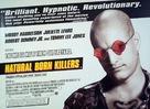 Natural Born Killers - British Movie Poster (xs thumbnail)