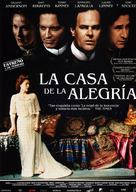 The House of Mirth - Spanish Movie Poster (xs thumbnail)