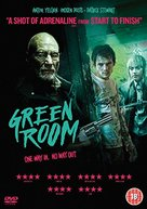 Green Room - British DVD movie cover (xs thumbnail)