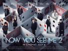 Now You See Me 2 - British Movie Poster (xs thumbnail)