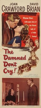 The Damned Don't Cry - Movie Poster (xs thumbnail)