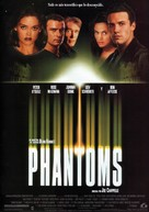 Phantoms - Spanish Movie Poster (xs thumbnail)