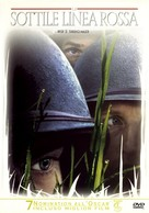 The Thin Red Line - Italian Movie Cover (xs thumbnail)