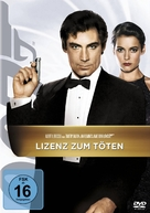 Licence To Kill - German DVD cover (xs thumbnail)