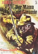 The Man from Laramie - German Movie Poster (xs thumbnail)