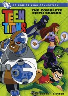 """Teen Titans"" - DVD cover (xs thumbnail)"