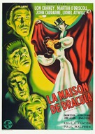 House of Dracula - French Theatrical movie poster (xs thumbnail)