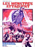 Daikaijû kettô: Gamera tai Barugon - French Movie Poster (xs thumbnail)