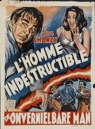 Indestructible Man - Belgian Movie Poster (xs thumbnail)
