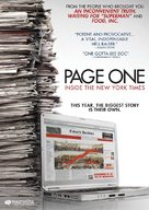 Page One: A Year Inside the New York Times - DVD cover (xs thumbnail)