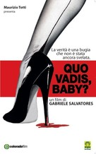 Quo Vadis, Baby? - Italian DVD cover (xs thumbnail)