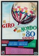 Around the World in Eighty Days - Italian Movie Poster (xs thumbnail)