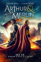 Arthur & Merlin: Knights of Camelot - British Movie Cover (xs thumbnail)
