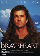 Braveheart - Australian DVD movie cover (xs thumbnail)
