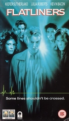 Flatliners - British VHS movie cover (xs thumbnail)