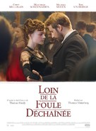 Far from the Madding Crowd - French Movie Poster (xs thumbnail)