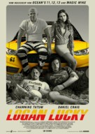 Logan Lucky - German Movie Poster (xs thumbnail)
