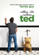 Ted - Swedish Movie Poster (xs thumbnail)