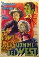 The Range Busters - Italian Movie Poster (xs thumbnail)