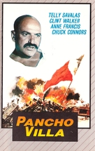 Pancho Villa - Finnish VHS movie cover (xs thumbnail)