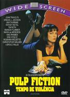 Pulp Fiction - Brazilian Movie Cover (xs thumbnail)