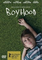 Boyhood - Italian DVD cover (xs thumbnail)