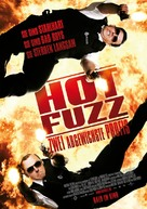 Hot Fuzz - German Movie Poster (xs thumbnail)