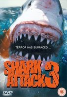 Shark Attack 3: Megalodon - British Movie Cover (xs thumbnail)