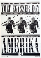 Once Upon a Time in America - Hungarian Movie Poster (xs thumbnail)