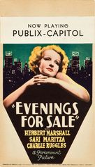 Evenings for Sale - Movie Poster (xs thumbnail)