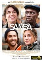 Samba - Hungarian Movie Poster (xs thumbnail)