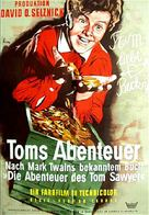 The Adventures of Tom Sawyer - German Movie Poster (xs thumbnail)