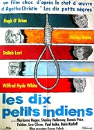 Ten Little Indians - French Movie Poster (xs thumbnail)