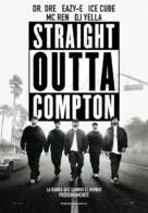 Straight Outta Compton - Spanish Movie Poster (xs thumbnail)