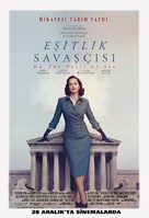 On the Basis of Sex - Turkish Movie Poster (xs thumbnail)