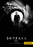 Skyfall - Hungarian Movie Poster (xs thumbnail)