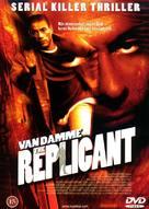 Replicant - Danish Movie Cover (xs thumbnail)