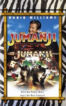 Jumanji - German VHS movie cover (xs thumbnail)