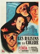 The Grapes of Wrath - French Movie Poster (xs thumbnail)