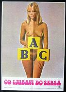 The ABC of Love and Sex: Australia Style - Yugoslav Movie Poster (xs thumbnail)